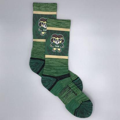 Strideline Premium Green Tokyodachi Cam the Ram Socks